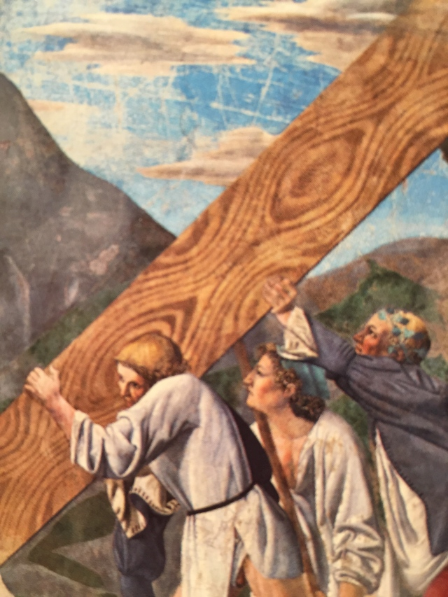 "Piero della Francesca ""The holy croce """